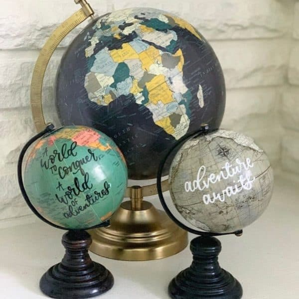 gifts for travel, gifts for travel lovers, gift for travel lovers, unique travel gifts, gifts for her, travel gift ideas for her, best luxury travel gifts, gifts for friends going travelling, travel gifts for her, globe, customized globe