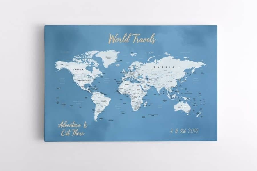 gifts for travel, gifts for travel lovers, gift for travel lovers, unique travel gifts, gifts for her, travel gift ideas for her, best luxury travel gifts, gifts for friends going travelling, travel gifts for her, world map,